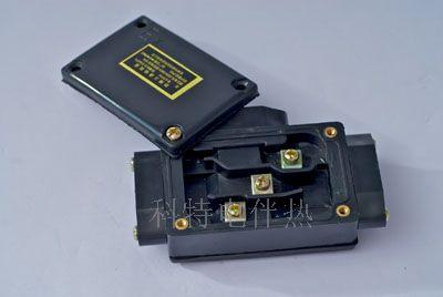 "t型防爆接线盒(俗称""三通"")两种形式,防爆标志""eⅡ t4"",与电热带配套"